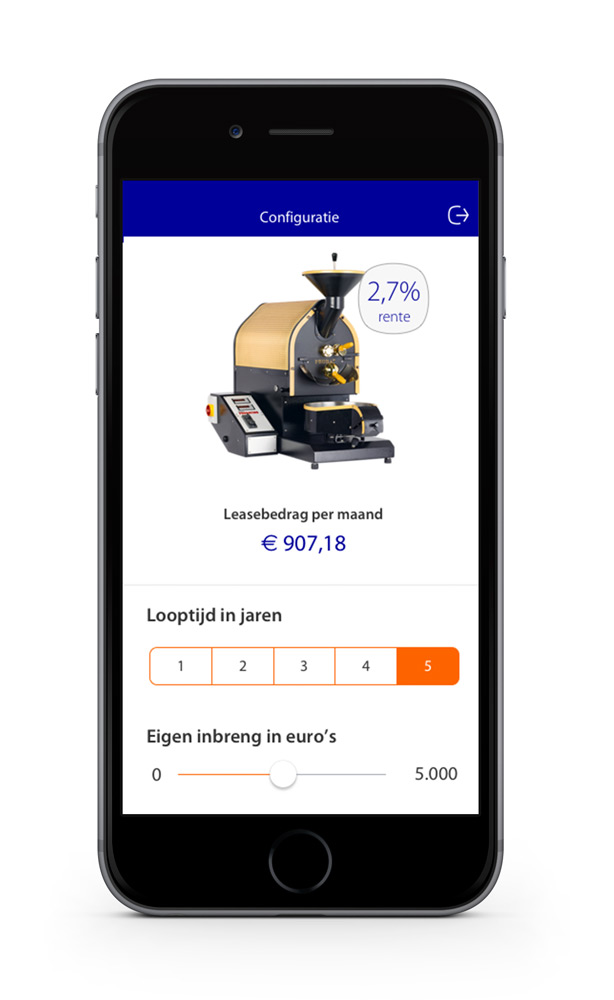 Rabobank Lease Prototype - Lease info - Maarten Somers