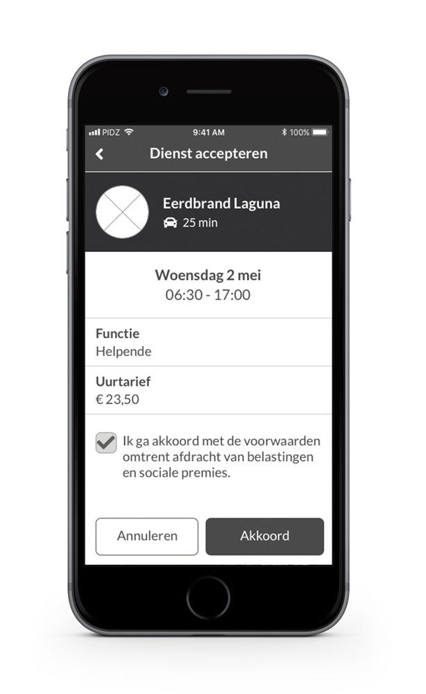 Department PIDZ App - Maarten Somers