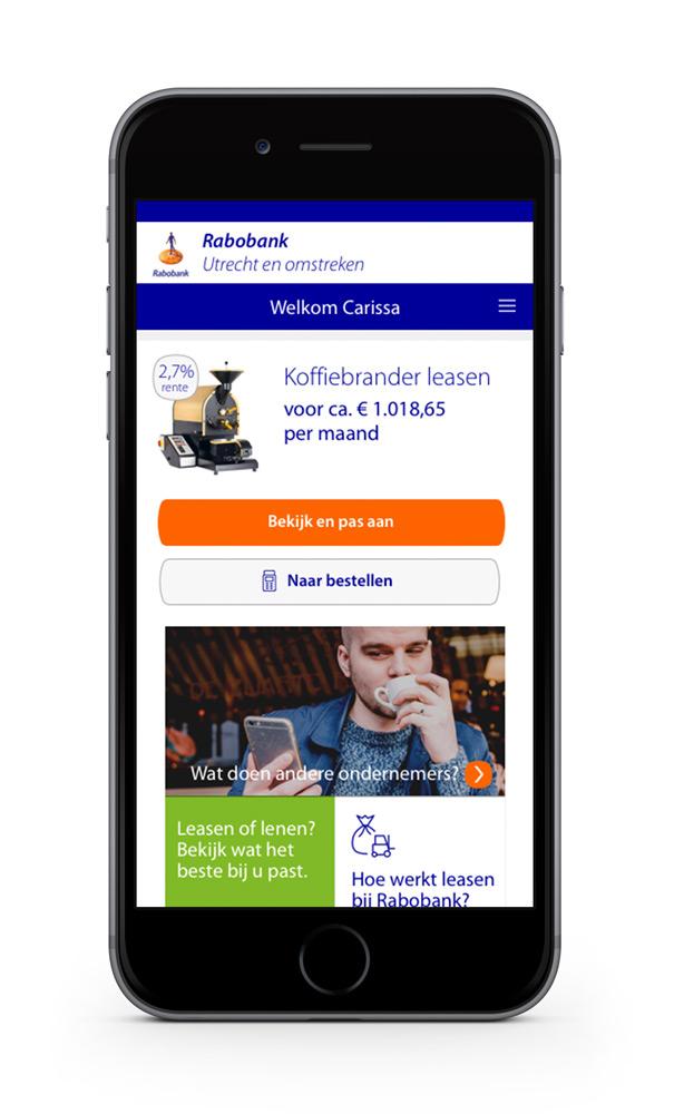Rabobank Lease Prototype - Linkpagina - Maarten Somers