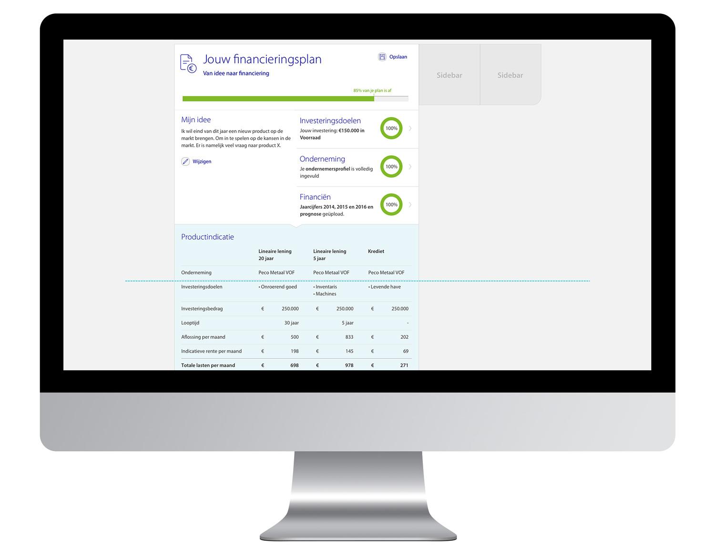 Rabobank Zakelijk Financieren 2.0 - Productindicatie - Maarten Somers